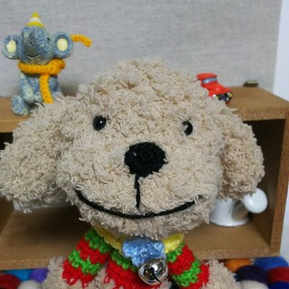 あみぐるみ♡HI☆KA☆RIさま専用♡モコモコ仔犬(あみぐるみ)