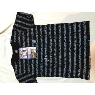 バンダイ(BANDAI)のジョジョの奇妙な冒険 オラオラボーダー Tシャツ メンズSサイズ 送料無料(Tシャツ/カットソー(半袖/袖なし))