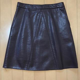 ザラ(ZARA)のZARA レザー風スカート(ミニスカート)