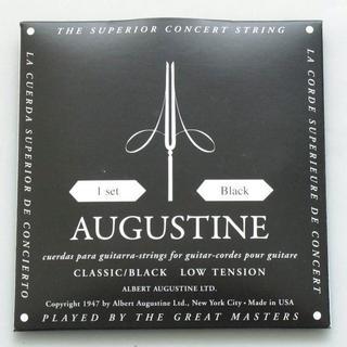 新品 オーガスチン Classic/Black クラシックギター1弦~6弦セット(弦)