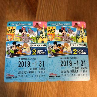 ディズニー(Disney)のディズニーリゾートライン2day その1(鉄道乗車券)