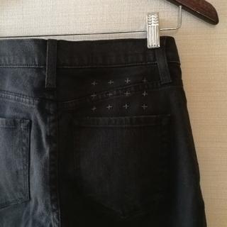スビ(ksubi)のKsubi ブラックスリムパンツ 黒 27インチ/デニム スキニー tsubi(デニム/ジーンズ)
