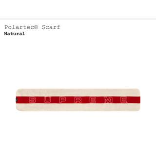 シュプリーム(Supreme)の supreme polartec scarf natural(バンダナ/スカーフ)