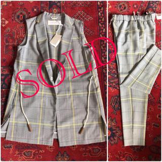 ブルネロクチネリ(BRUNELLO CUCINELLI)のFABIANA FILIPPI ジレ&パンツ  スーツ新品未使用タグ付き(スーツ)