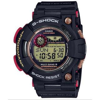 ジーショック(G-SHOCK)の35周年限定マグマオーシャン フロッグマンGWF-1035F-1JR 国内正規品(腕時計(デジタル))