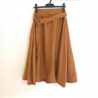 シマムラ(しまむら)の❤︎ しまむら 秋色膝丈スカート ❤︎(ひざ丈スカート)