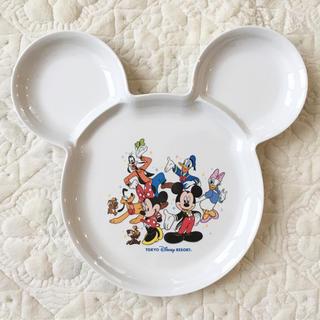 ディズニー(Disney)の★未使用★ディズニー★ミッキー型 スーベニア プレート お皿★(プレート/茶碗)