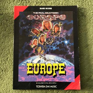 EUROPEバンドスコア(ポピュラー)