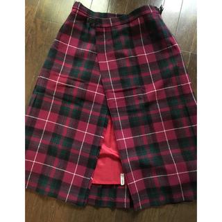 ジェイプレスレディス(J.PRESS LADIES)の🌟お値さげ🌟クランレアード スコットランド製 キルトスカート(ロングスカート)