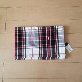 ラルフローレン(Ralph Lauren)のラルフローレン ブランケット 綿毛布 膝掛け ハーフサイズ 140×100(毛布)