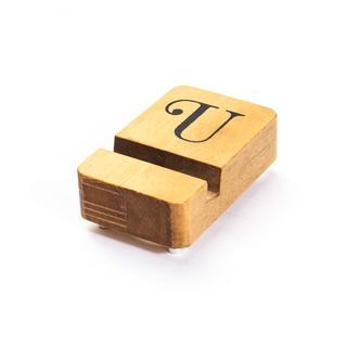 ムジルシリョウヒン(MUJI (無印良品))のzozo購入 ipadスタンド iphoneスタンド 木製 ディスプレイ(その他)