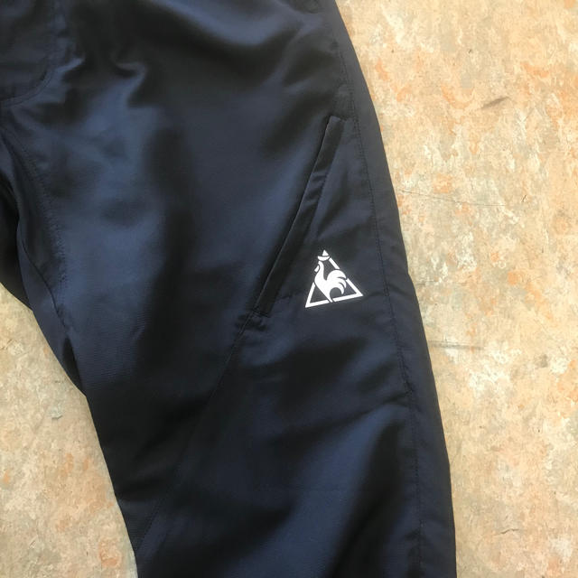 le coq sportif(ルコックスポルティフ)のルコックスポルティフ 7分丈ウーブンサイクルパンツ Mサイズ75~81cm 黒色 スポーツ/アウトドアの自転車(ウエア)の商品写真