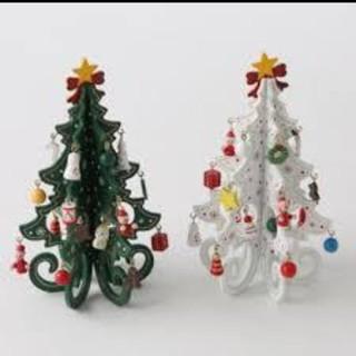 スリーコインズ(3COINS)のゆか様専用★大人気★3coins完売商品 クリスマスツリー ホワイト  (インテリア雑貨)