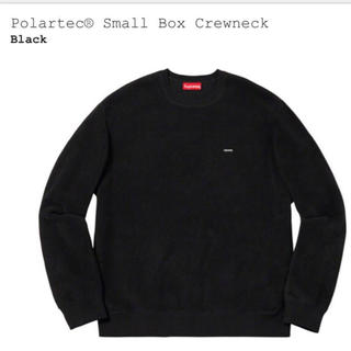 シュプリーム(Supreme)のsupreme polartec small box logo crewneck(スウェット)