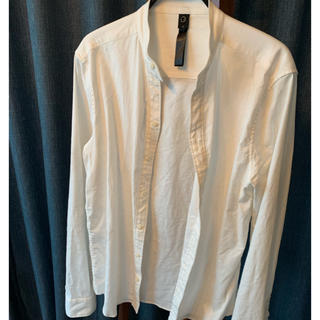 ダブルジェーケー(wjk)のwjk banded collar natural V shirts(シャツ)