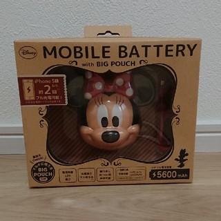 ディズニー(Disney)のモバイルバッテリー(バッテリー/充電器)