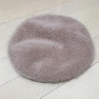 ウィゴー(WEGO)のベレー帽 ベージュ WEGO(ハンチング/ベレー帽)