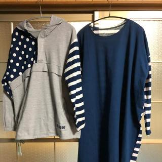 エルロデオ(EL RODEO)のエルロデオ  ロンT セット(Tシャツ/カットソー(七分/長袖))