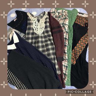 ジーユー(GU)のセール🎵ガジュアルレディース服まとめ売り☆チュニック多め☆Mサイズ(チュニック)