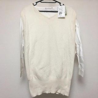 アカチャンホンポ(アカチャンホンポ)の新品未使用 マタニティシャツ&セーター M〜L(マタニティトップス)