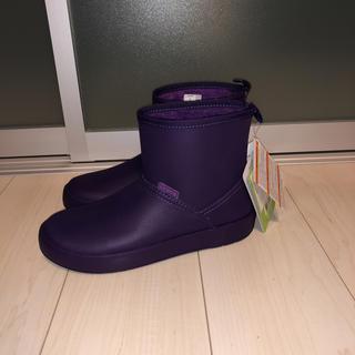 クロックス(crocs)の新品タグ付  クロックス crocs colorlite ブーツ(ブーツ)