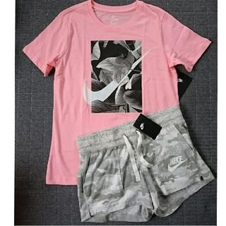 ナイキ(NIKE)の新品 NIKE 二点セット L Tシャツ ショートパンツ ナイキ(ショートパンツ)