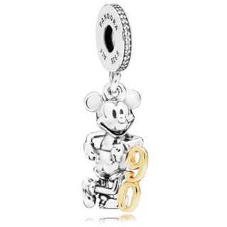 ディズニー(Disney)の【数量限定】ミッキーマウス生誕 90周年  パンドラ アニバーサリーチャーム(チャーム)