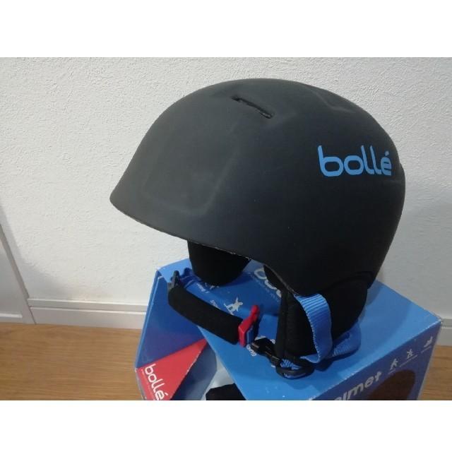 bolle(ボレー)の未使用品 bolle ボレー キッズ ヘルメット ジュニア スキー スノボ スポーツ/アウトドアのスノーボード(アクセサリー)の商品写真