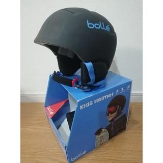 ボレー(bolle)の未使用品 bolle ボレー キッズ ヘルメット ジュニア スキー スノボ(アクセサリー)