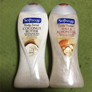 スアーヴ(Suave)のSoftsoap ボディウォッシュ ココナッツ アーモンド 2本セット(ボディソープ / 石鹸)