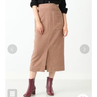 デミルクスビームス(Demi-Luxe BEAMS)のDemi-Luxe BEAMS コーデュロイ スカート(ひざ丈スカート)
