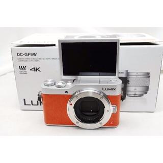 パナソニック(Panasonic)のLUMIX DC-GF9W レンズキット (オレンジ)(ミラーレス一眼)