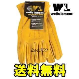 送料込●新品wells lamontウェルズ ラモント レザーグローブ牛革(その他)