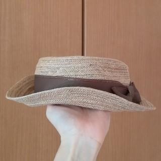 しまむら - 麻100%のカンカン帽