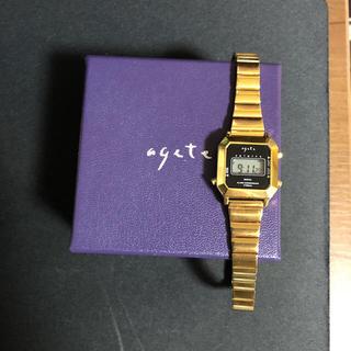 アガット(agete)のアガット 時計 デジタル(腕時計)