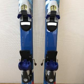 サロモン(SALOMON)の子供用スキー3点セット 板スノーカービング90cm  ビデングブーツ ★サロモン(板)