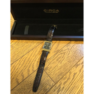 サーカ(CIRCA)の12/5までマカロニ様専用♡CIRCA腕時計(腕時計)