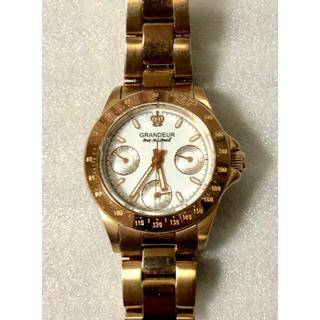 グランドール(GRANDEUR)の値下げ❗️ GRANDEURグランドール レディス腕時計  デイト機能(腕時計)