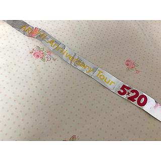 ARASHI 5×20 銀テープ1本(アイドルグッズ)