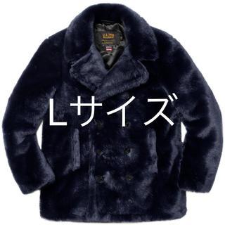 シュプリーム(Supreme)の【Lサイズ】Supreme / schott faux fur peacoat(ピーコート)