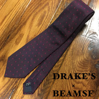 ドレイクス(DRAKES)の【DRAKE'S✖️BEAMSF】ドレイクス ビームス  ネクタイ(ネクタイ)