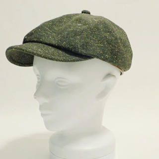 ヴィクティム(VICTIM)のVICTIM 帽子 キャスケット ヴィクティム チャコールグレー(キャスケット)