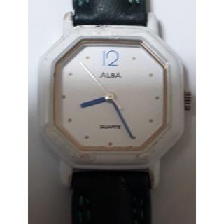 アルバ(ALBA)のベルト変更【動作品】ALBA 型番V251-5170QUARTZレディース腕時計(腕時計)