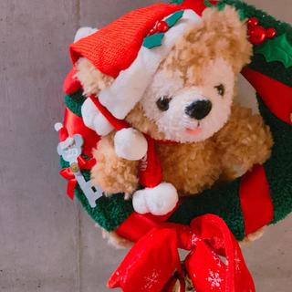ダッフィー(ダッフィー)のタグ付き  25周年レア ダッフィー クリスマスリース(リース)