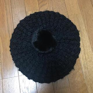 ニット ベレー帽 AZUL