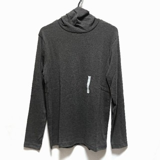 ジーユー(GU)の【タグ付新品】タートルネックT【Lサイズ】(Tシャツ/カットソー(七分/長袖))