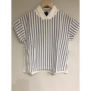 シップス(SHIPS)のSHIPS 襟付き シャツ(Tシャツ(半袖/袖なし))