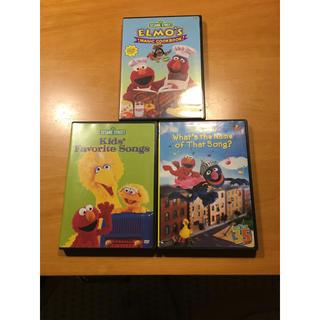 セサミストリート(SESAME STREET)の(*☻-☻*)SESAME STREET DVD 3枚セット(キッズ/ファミリー)