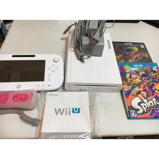 ウィーユー(Wii U)のWii U 本体 ソフト2本セット(家庭用ゲーム機本体)