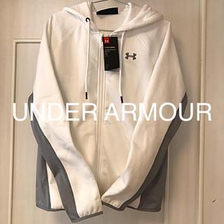 アンダーアーマー(UNDER ARMOUR)の新品✨アンダーアーマー 🎽ジップパーカー(パーカー)